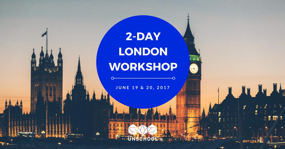 unschool london workshop