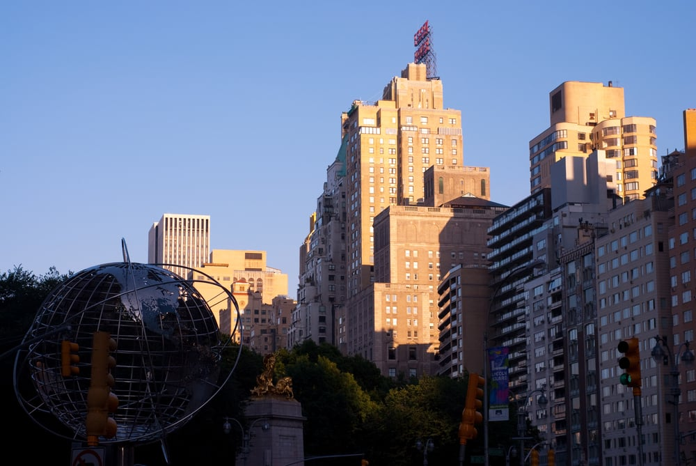 View From Columbus Circle 2010