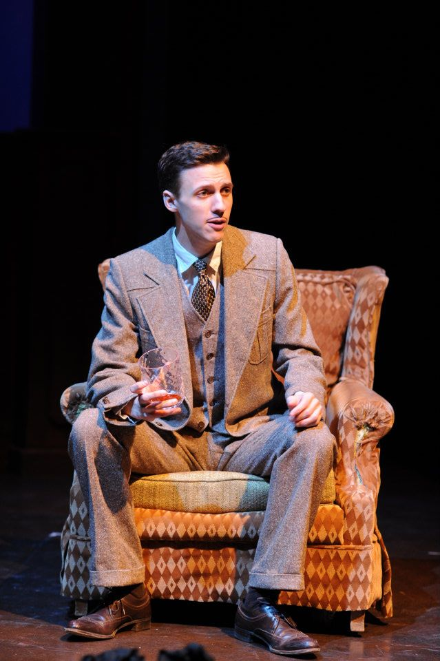 The 39 Steps, Eastern Michigan University. Photo by Randy Mascharka.