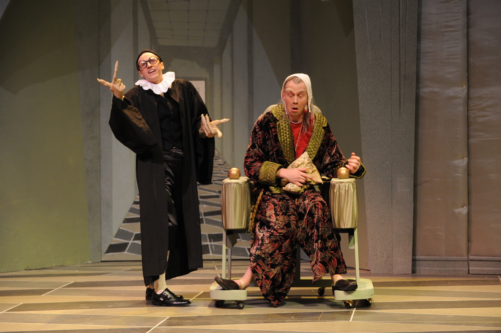 The Imaginary Invalid, Eastern Michigan University. Photo by Randy Mascharka.