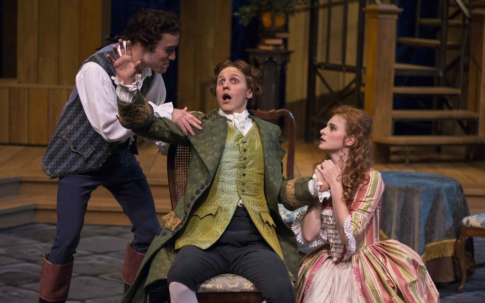 The Beaux' Stratagem, Univ. of Wisconsin - Madison. Photography by Maureen Janson Heintz.