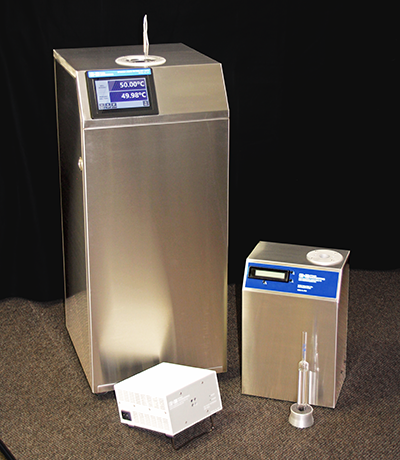 secondary calibration comparators and stirred liquid baths from Pond Engineering