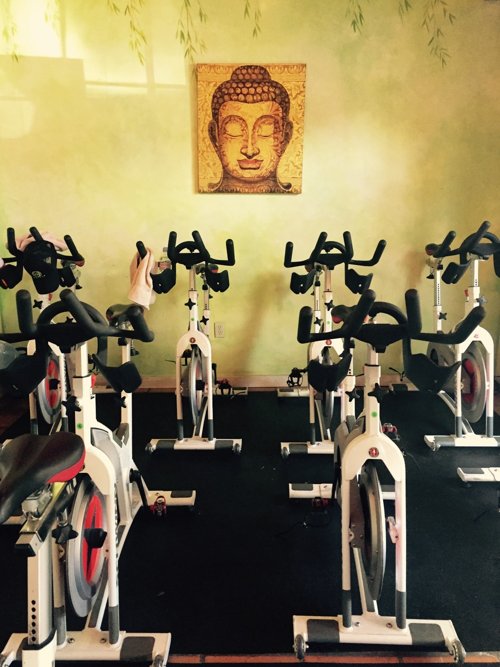 The Cycle 5 space at Fit Buddha.