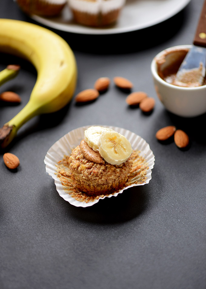 Image from  The Minimalist Baker, Gluten Free Vegan Banana Almond Muffins