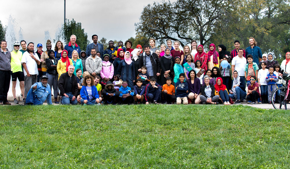 Picnic for Refugee Families