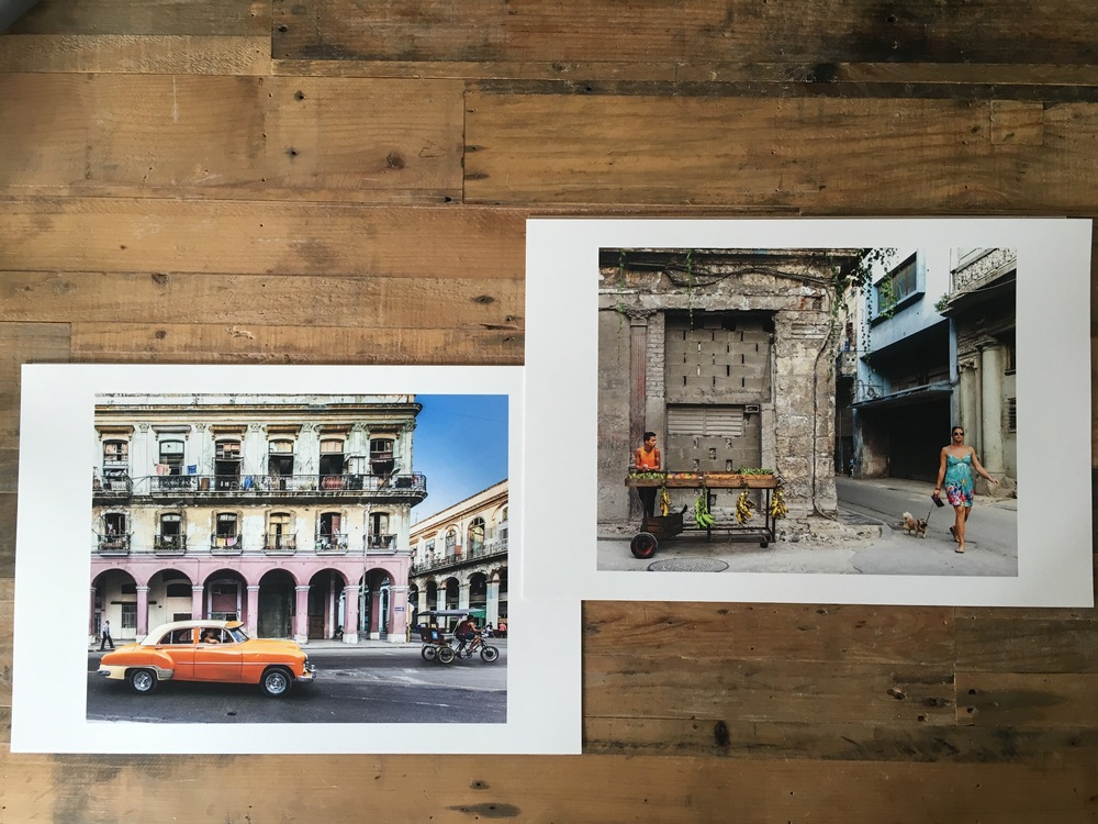 Our 'Cuba in Transition' Kickstarter supporters are about to receive their photo awards.