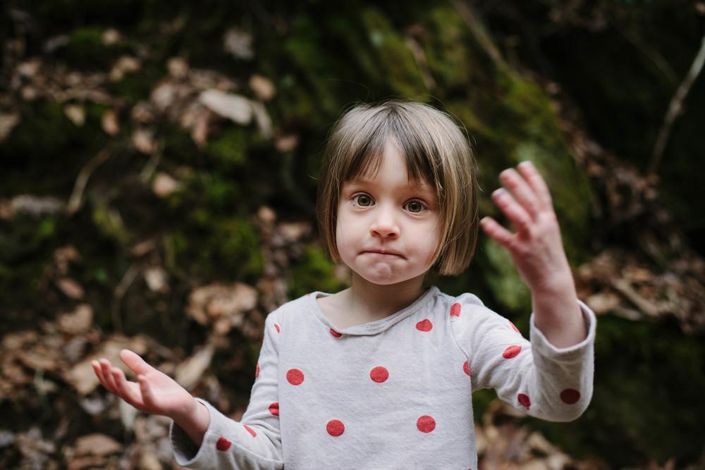 Image of girl looking at camera