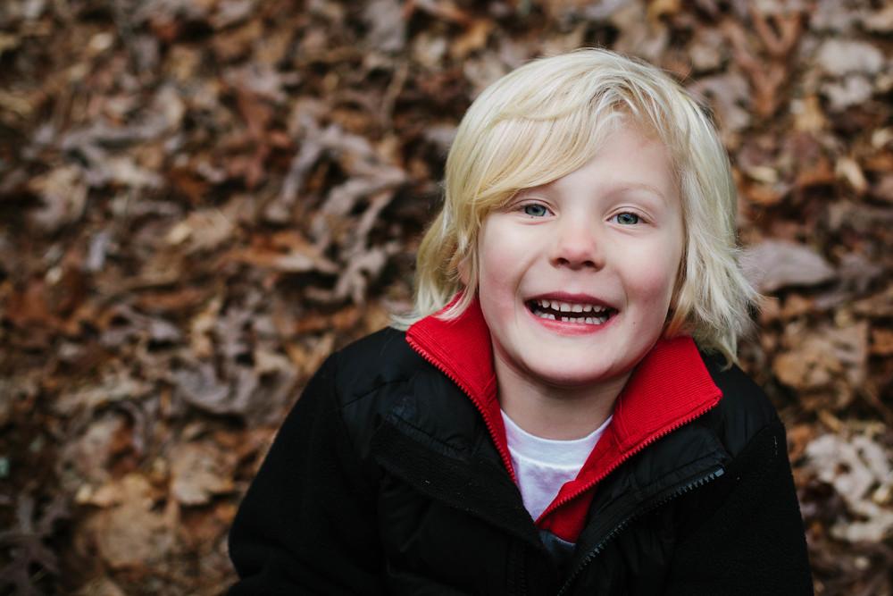 Image of boy smiling