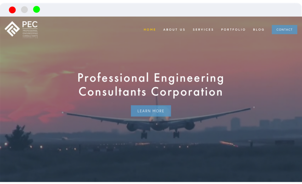 Professional Engineering Consultants -              Website Design Branding Analytics SEO