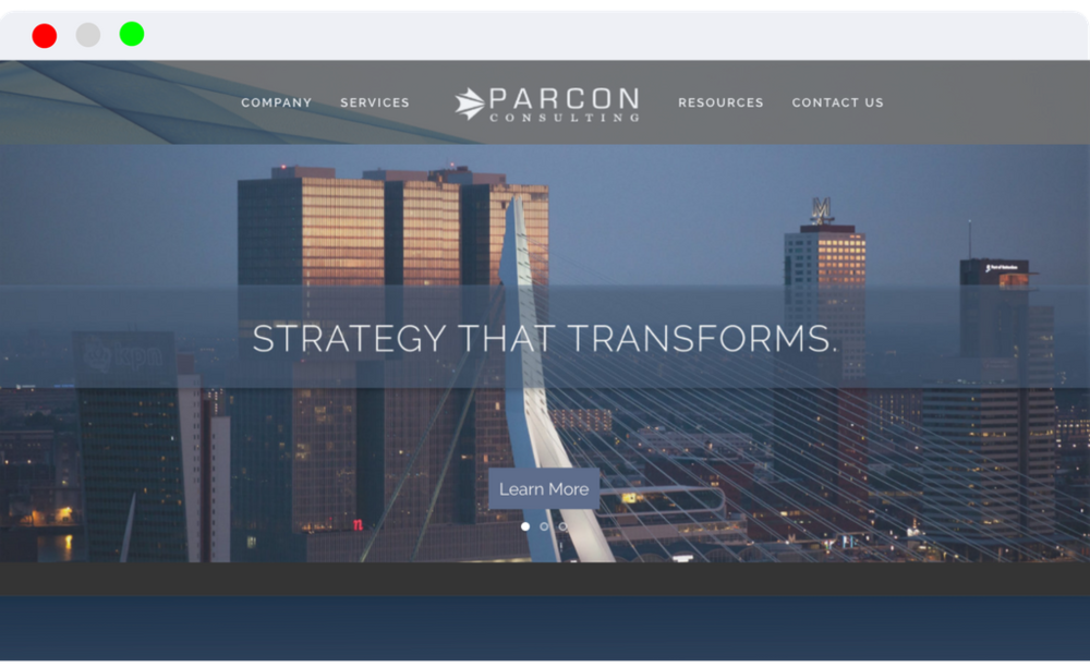 Parcon Consulting - Website Design Branding Analytics SEO
