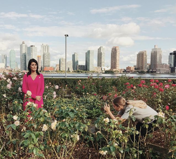 Image Source: Instagram, by  Luisa Dorr , For Time Magazine, Women Who Are Changing The World, 2017    https://www.instagram.com/p/BZGzOLdhZAi/?taken-by=luisadorr