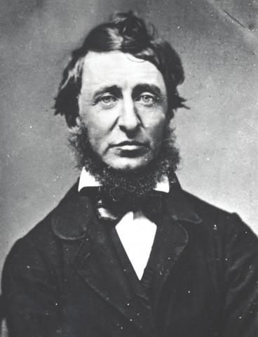 Henry David Thoreau Photo credit: Courtesy of Concord Free Public Library