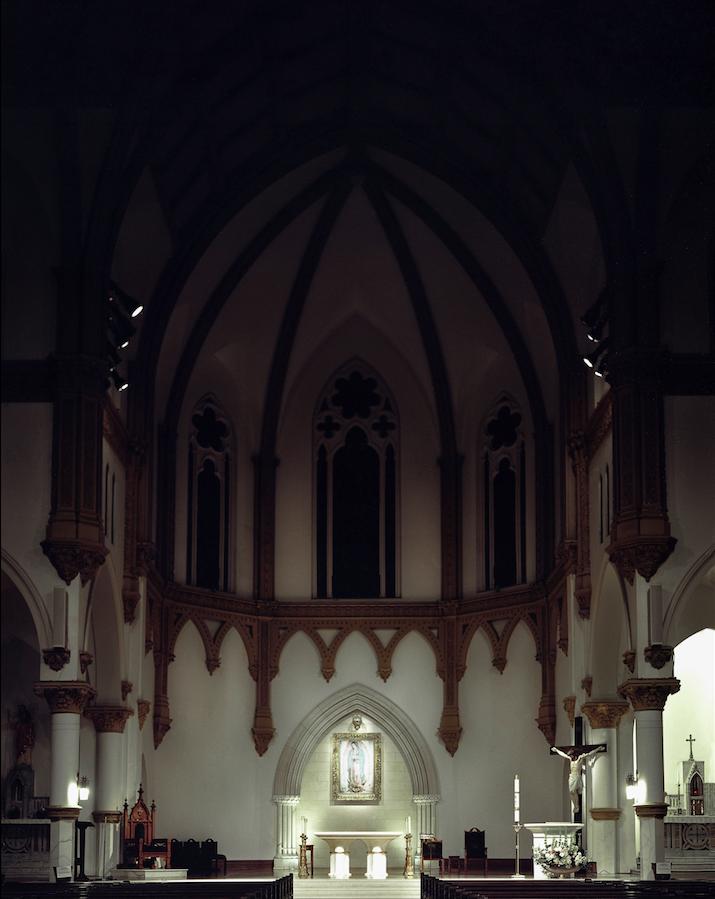 Cathedral Santuario de Guadalupe, Architecture, North Dallas, 2016