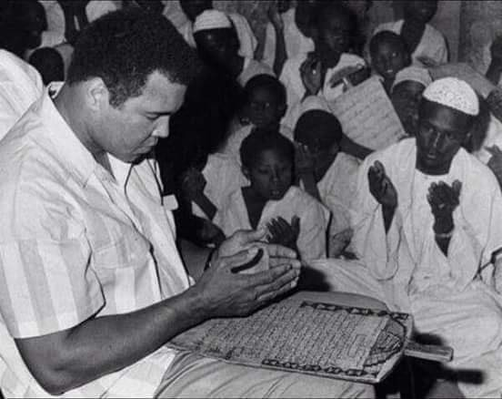 Muhammad Ali at Wad Badur Mosque & Quranic School in Omdurman, Sudan (via Facebook)