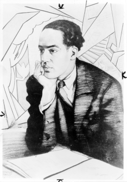 Portrait of Langston Hughes (1927) By Winold Reiss