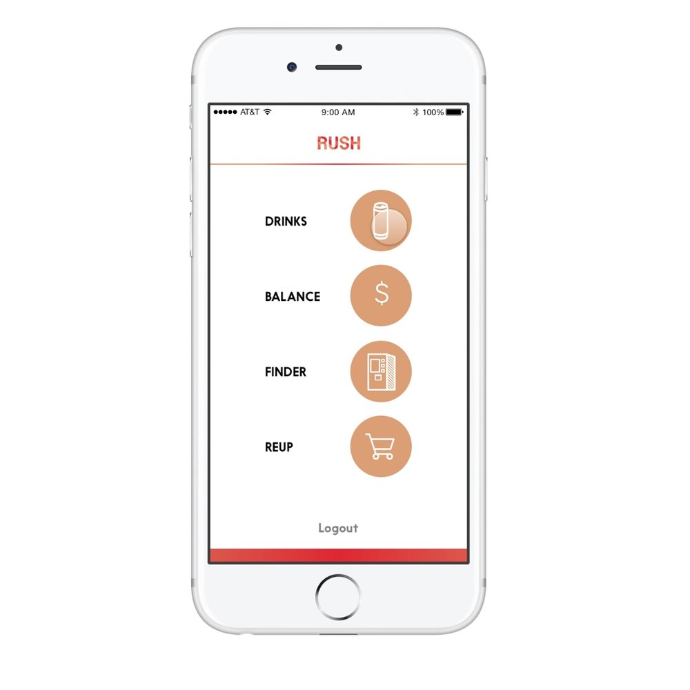 The app can manage your drink preference and balance, find the nearest machine, and reorder cans for home storage