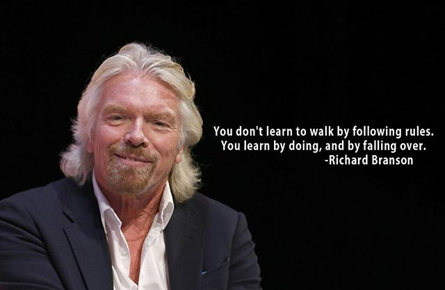 We are giving you the permission to break the rules. Listen to this amazing quote from @richardbranson  and  challenge yourself! Dream bigger, do more of what you love, say no. You have the ability to change your goals and by changing your goals you alter not only your present but your future as well. Commit to being the best version of YOU and start NOW! Let us help you get started now, link in bio for 10 free, easy steps to change your morning. #morning #quotes #success #positivity #dreambig #growth #healthy #goals #challenge #selflove