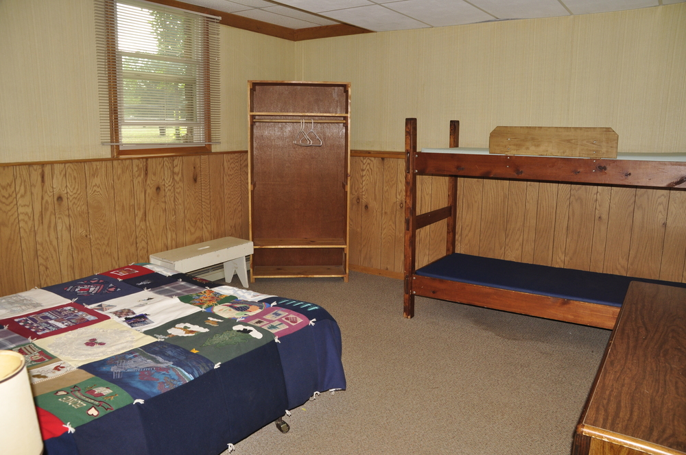Retreat Center room