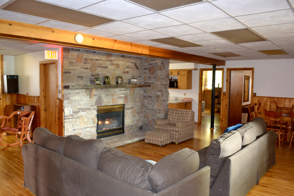 Retreat Center lounge