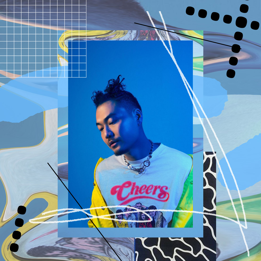 """DUMBFOUNDEAD RELEASED """"CAFE BLEU"""" A PROJECT NAMED AFTER CAFE BLEU IN KTOWN LOS ANGELES /    DESIGN CREDIT: VANESSA ACOSTA    / PHOTO CREDIT: DUMBFOUNDEAD"""