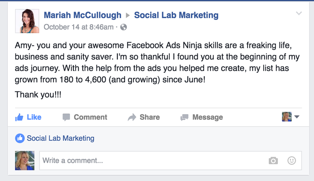 FB Ad Template Sign UP SOCIAL LAB MARKETING - Hiring ads templates