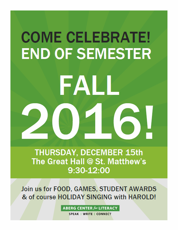 End of Semester Celebration ST. MATS.png