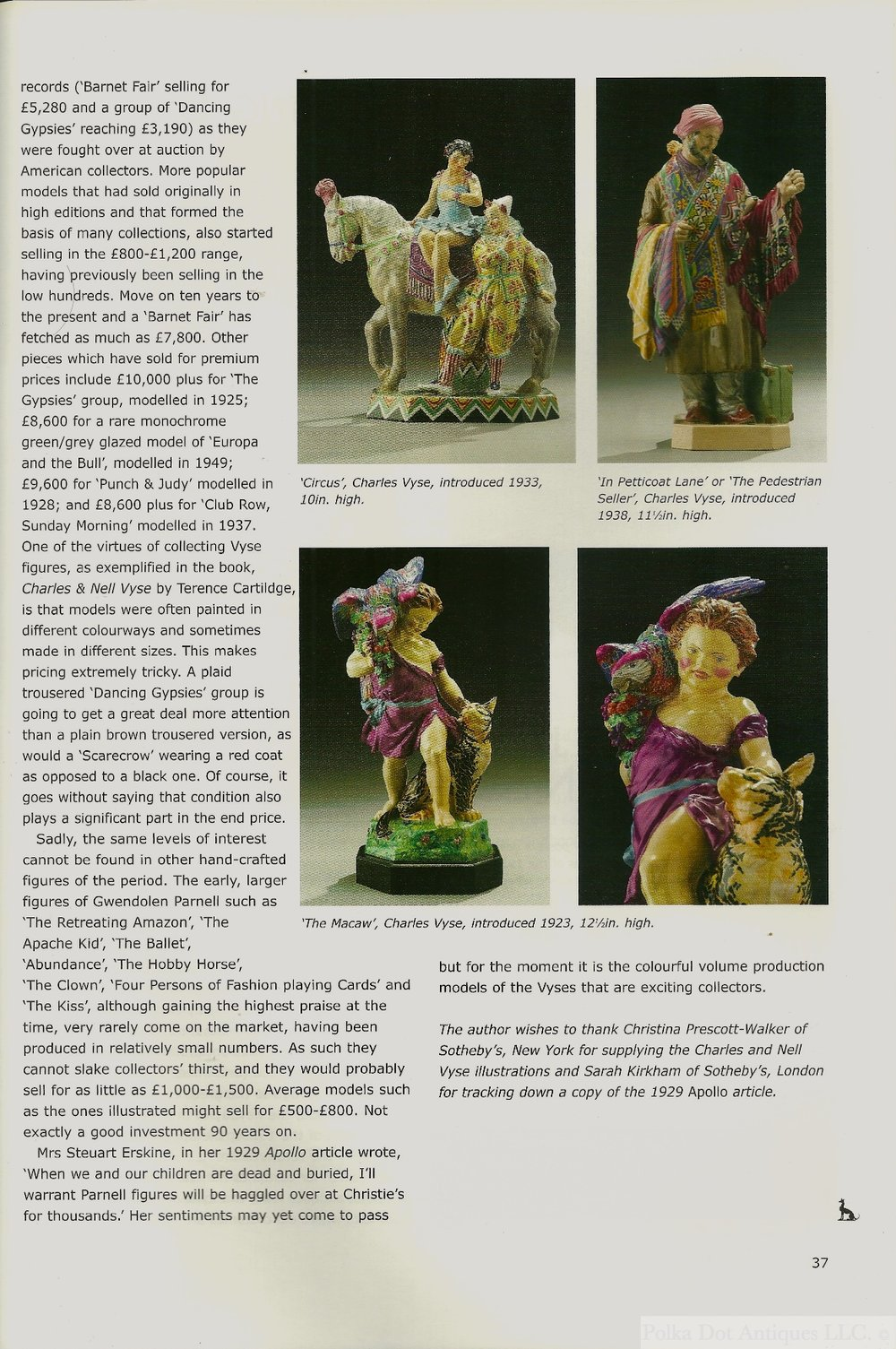 Antique Collecting.  2008.  Volume 43.  Number 3.