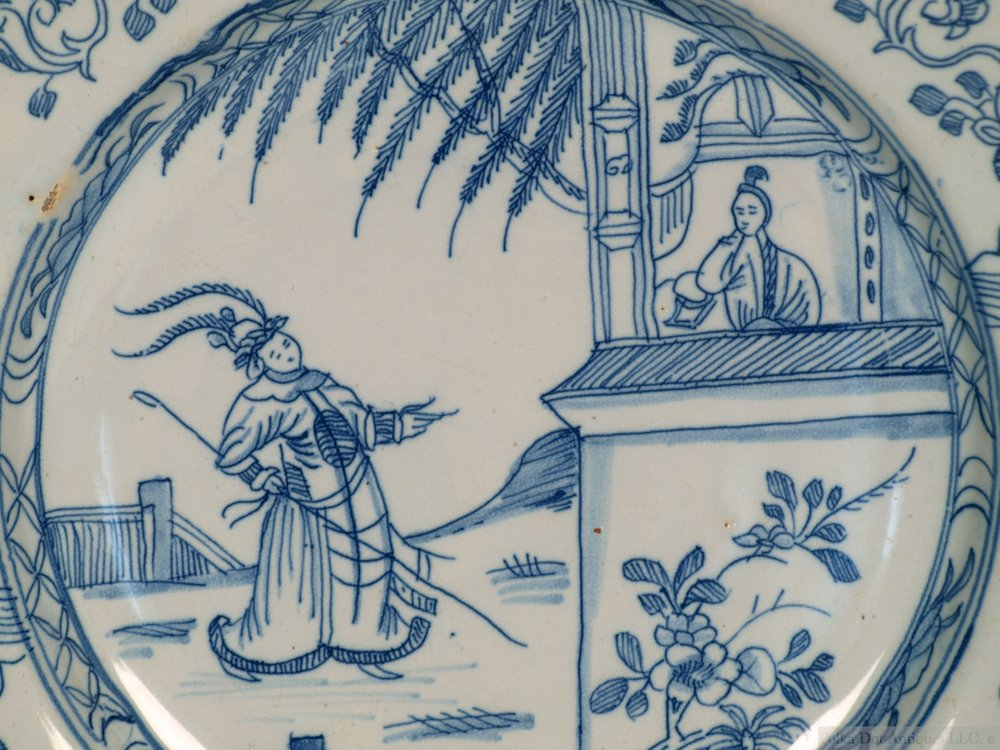RPW00229 Delftware Chinosiere Blue and White Dish - 3.jpg