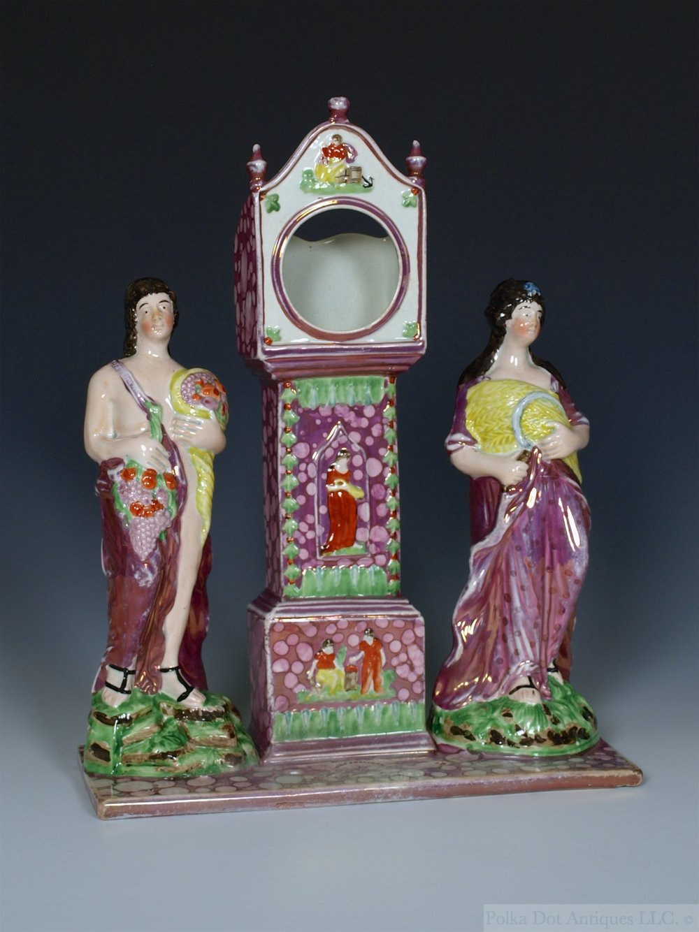 "Set of Four Dixon Austin & Co Figures of the Seasons, c.1820, 9""."