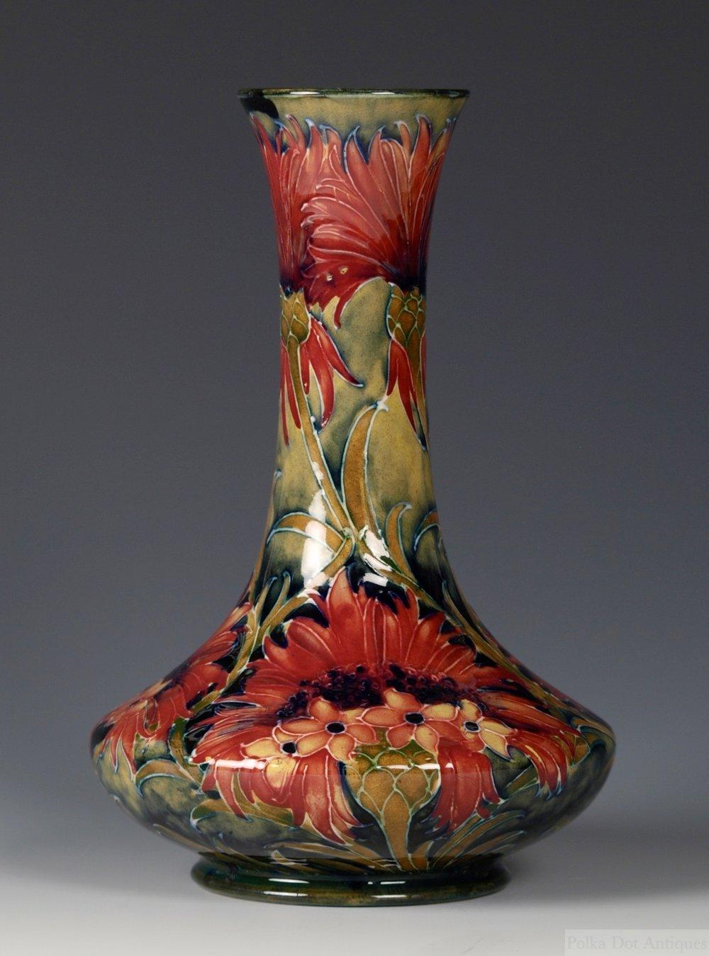 RPW386 Moorcroft Chrysanthemum Vase - 2.jpg