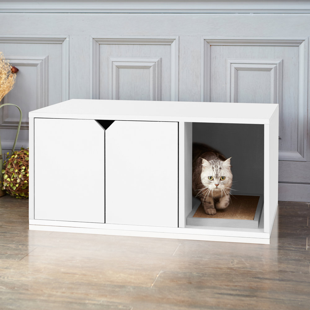 Stylish cat litter box