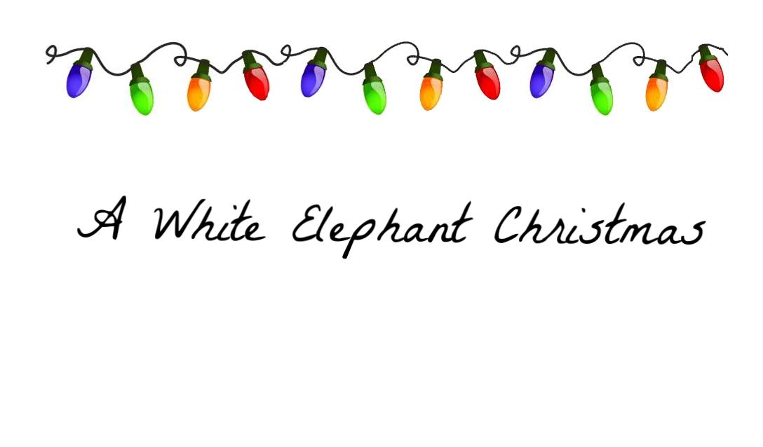 a white elephant christmas hidden valley community church