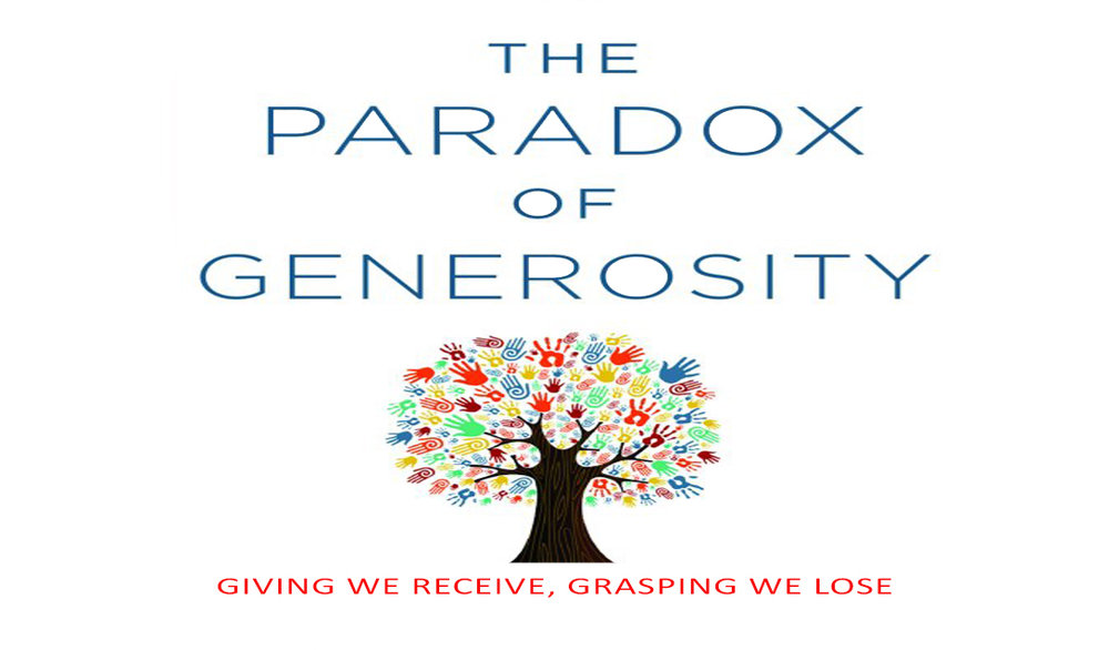 Paradox of Generosity