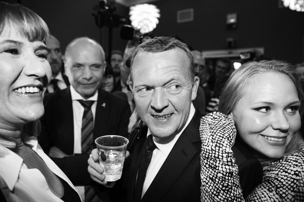 Lars Løkkes valgfest 2015