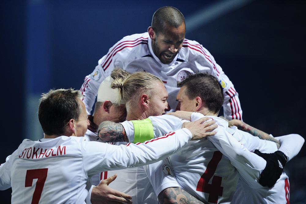 VM-kvalifikationskamp, Tjekkiet - Danmark.