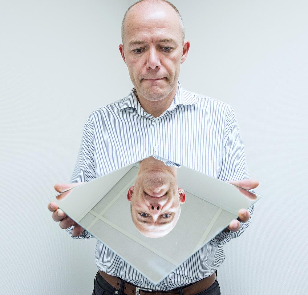 Gert Nielsen er tvilling. Han mistede sin tvillingbror, der døde af kræft