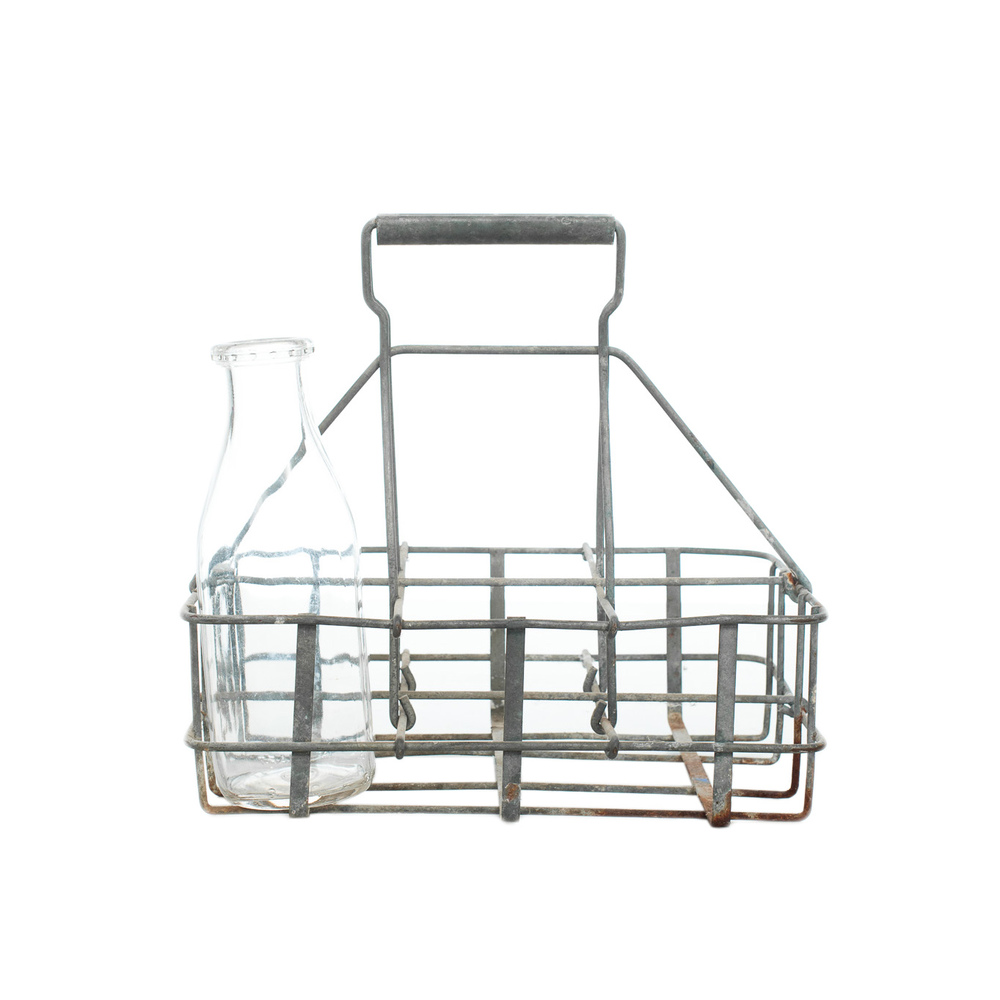 Wire Milk Bottle Carrier