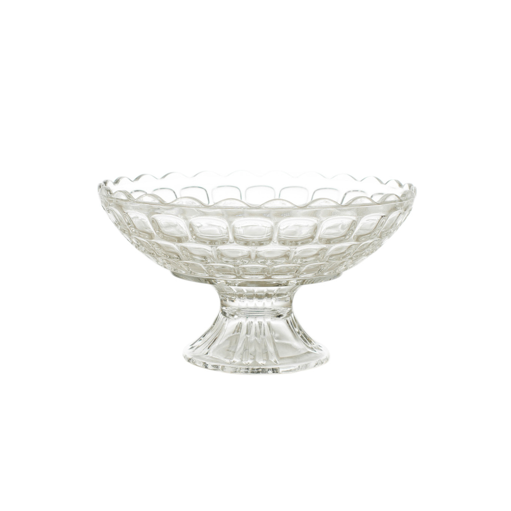 Glass Pedestal Bowl