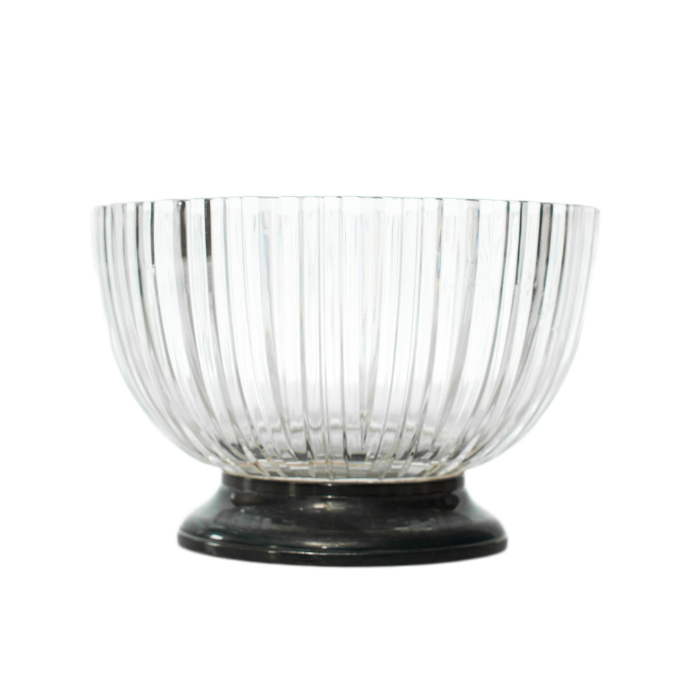 Silver & Glass Bowl