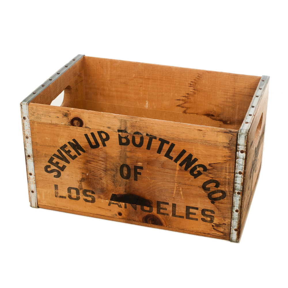 Seven Up Pop Crate