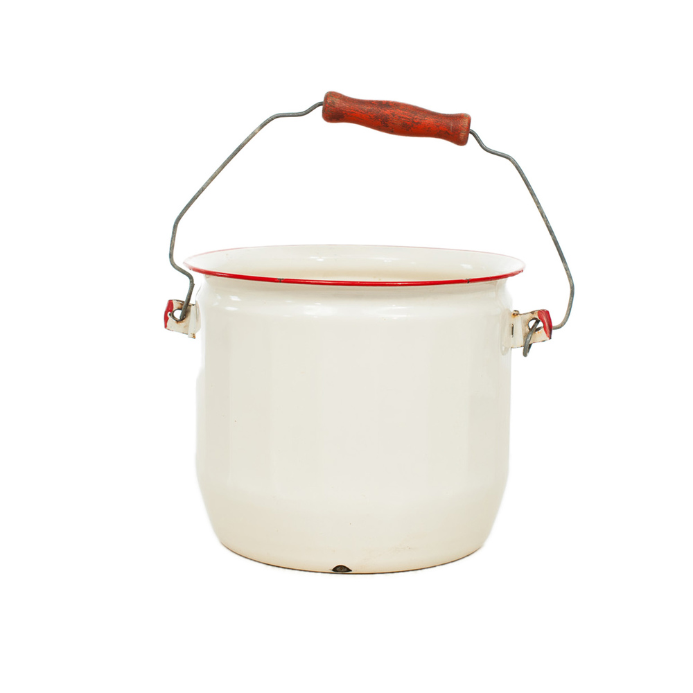 Enamelware Bucket