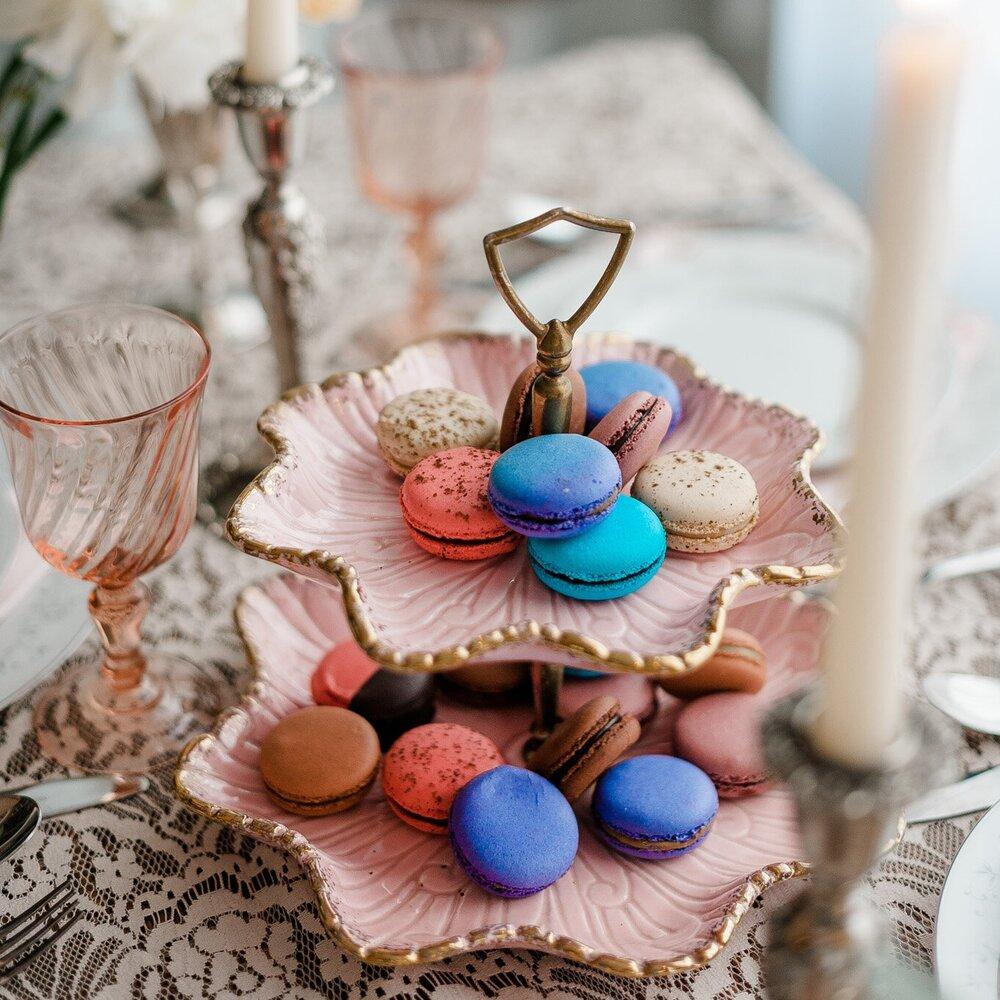 Pink Dessert Platter
