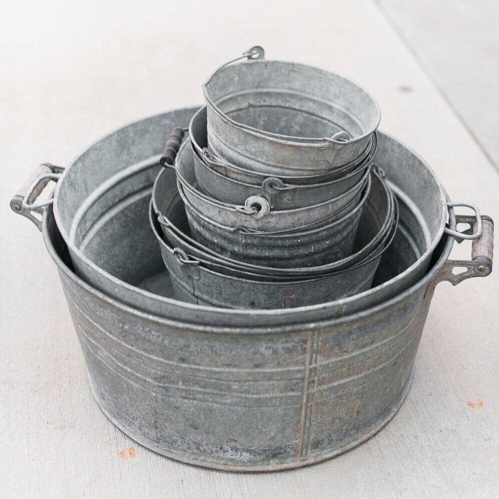 Galvanized Pan
