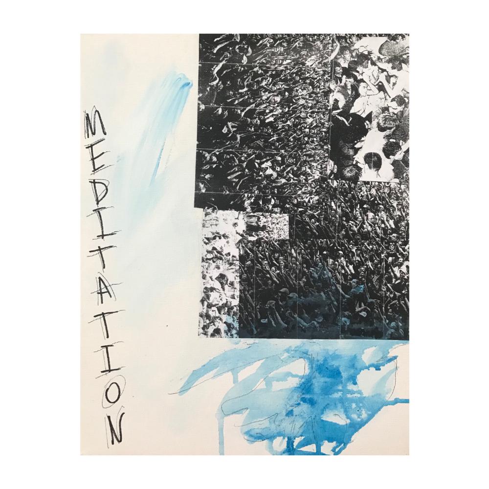 "Meditation, 11"" x 14"""