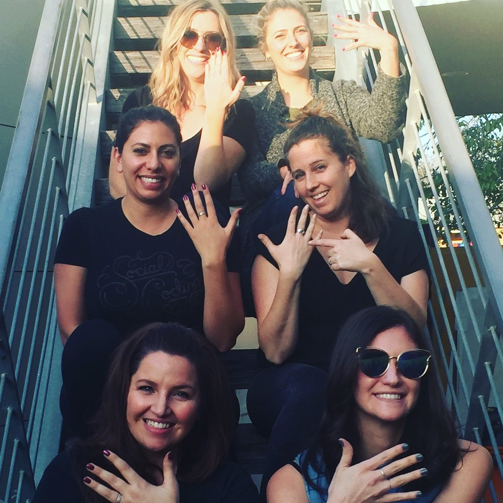 Women in Tech Marketing - Spring 2018   From Stacking Rings to customized bracelet cuffs to personalized luggage tags. We would love to host your Team. Contact the Studio Manager to discuss the details..