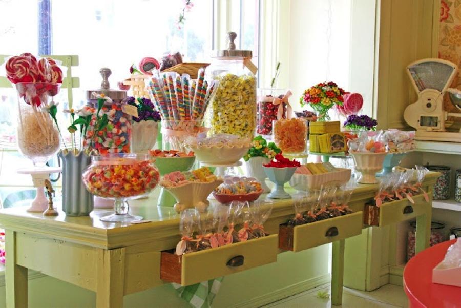 сладкий стол для детей