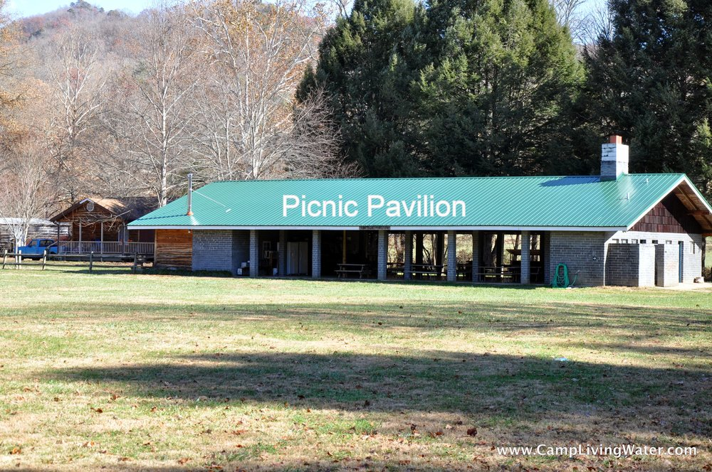 Pavilion, Pool, Campfire - for cookouts, campouts, birthday parties, outdoor worship