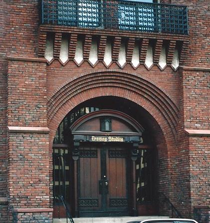 Fenway Studios, Ipswich Street, Boston, MA, 1990.