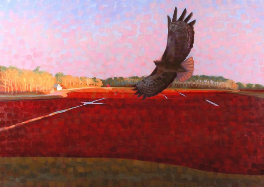 "Teresa Baksa,  Morning Hunt , oil/canvas, 34"" x 48"", 2004"
