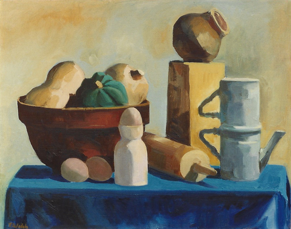 Still Life With Indian Pot